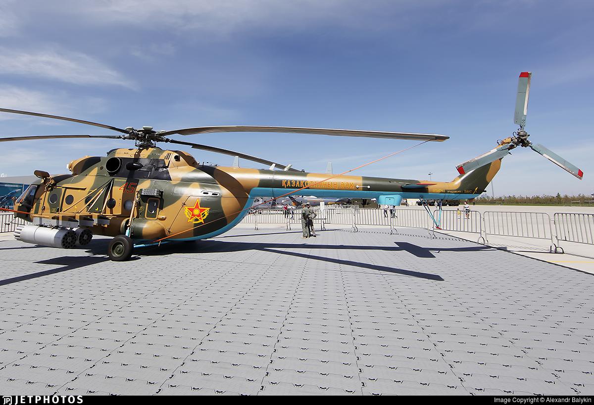 45 - Mil Mi-171Sh-P - Kazakhstan - Air Force