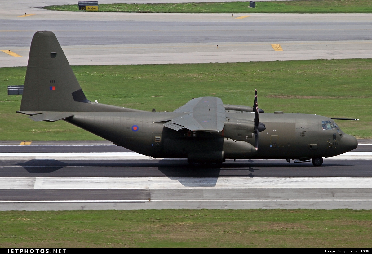 ZH888 | Lockheed Martin Hercules C 5 | United Kingdom - Royal Air