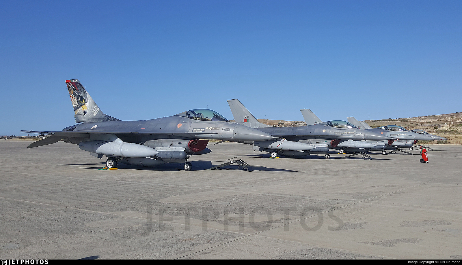15103 - General Dynamics F-16A Fighting Falcon - Portugal - Air Force