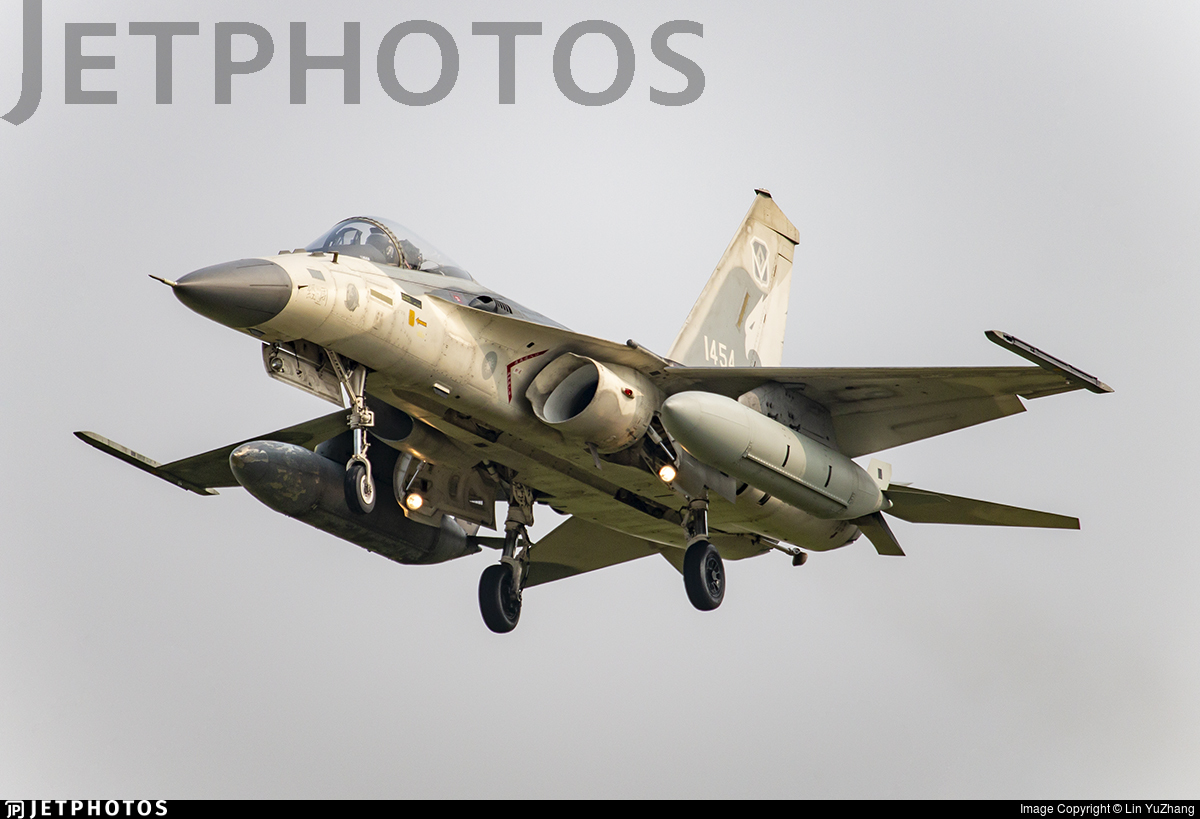 1454 - AIDC F-CK-1C Ching Kuo - Taiwan - Air Force