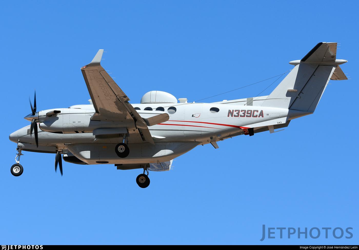 N339CA - Beechcraft B300 King Air 350 - Commuter Air Technology