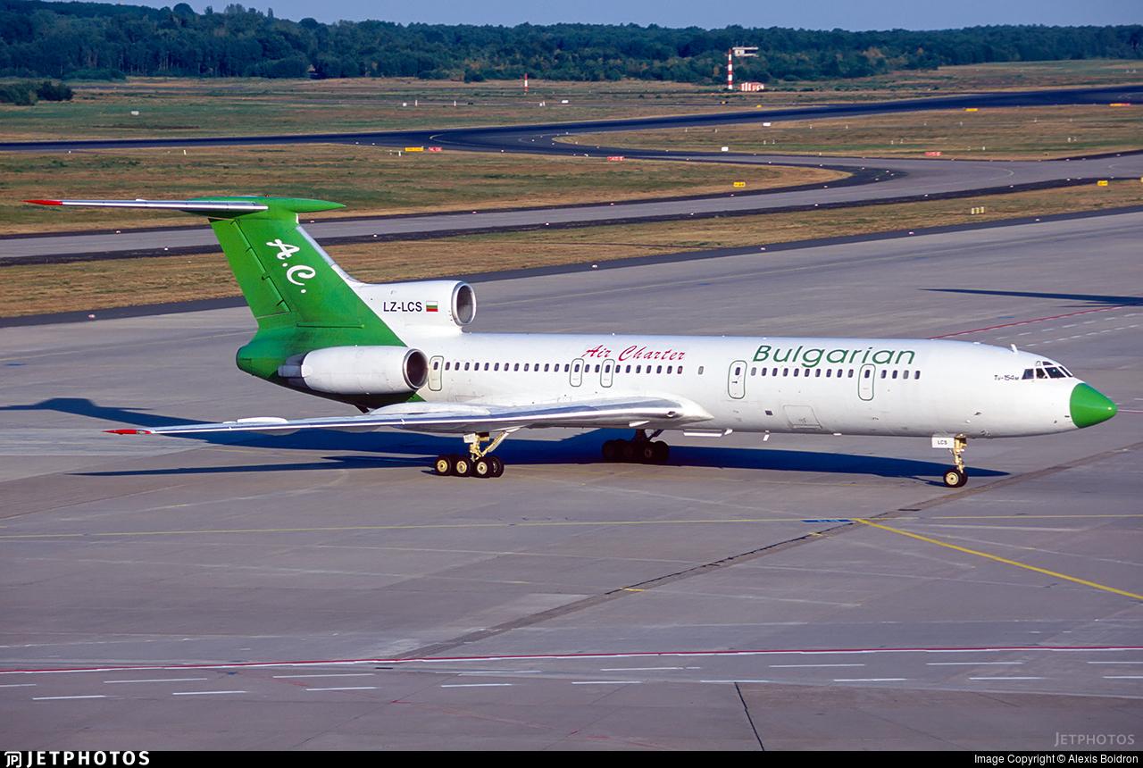 LZ-LCS - Tupolev Tu-154M - Bulgarian Air Charter (BAC)