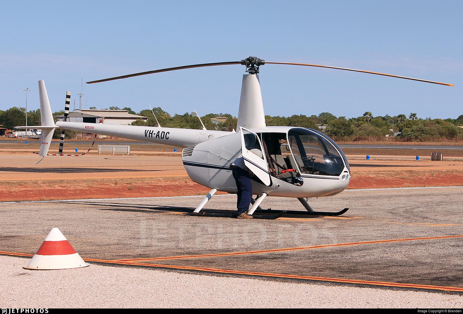 VH-ADC - Robinson R44 Raven - Private