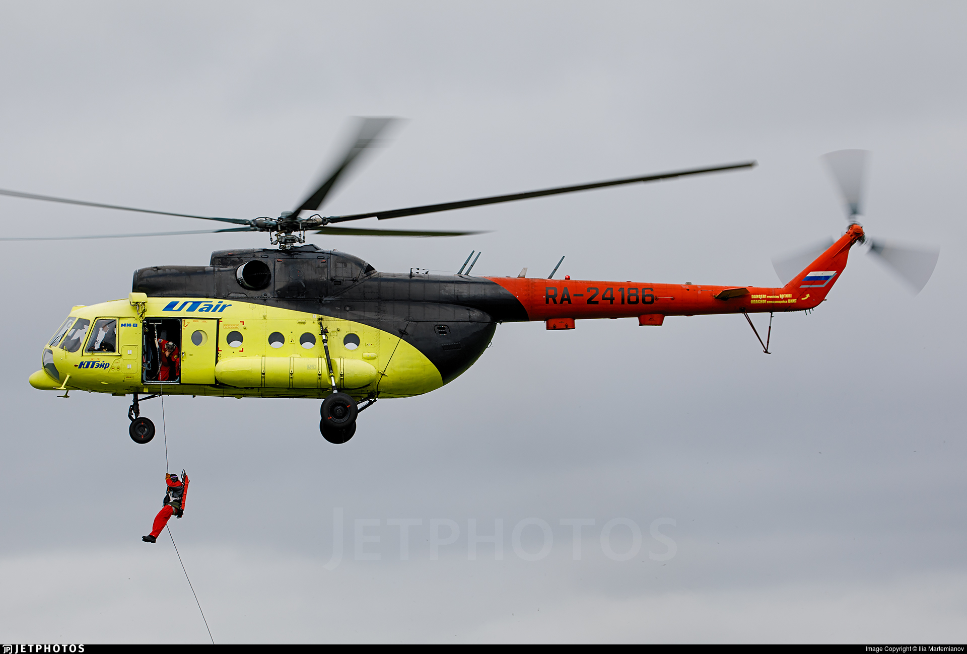 RA-24186 - Mil Mi-8T Hip - UTair Aviation