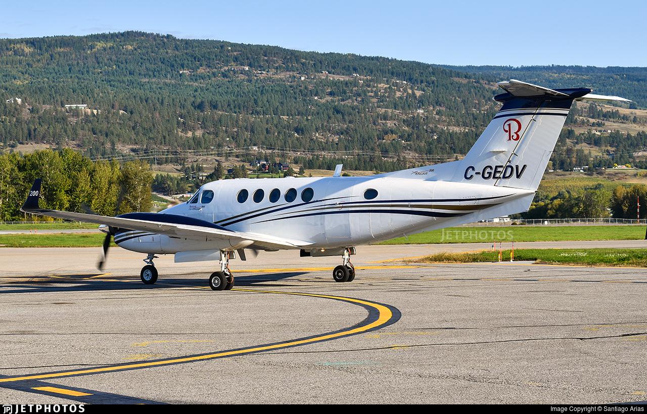 C-GEDV - Beechcraft 200 Super King Air - Private