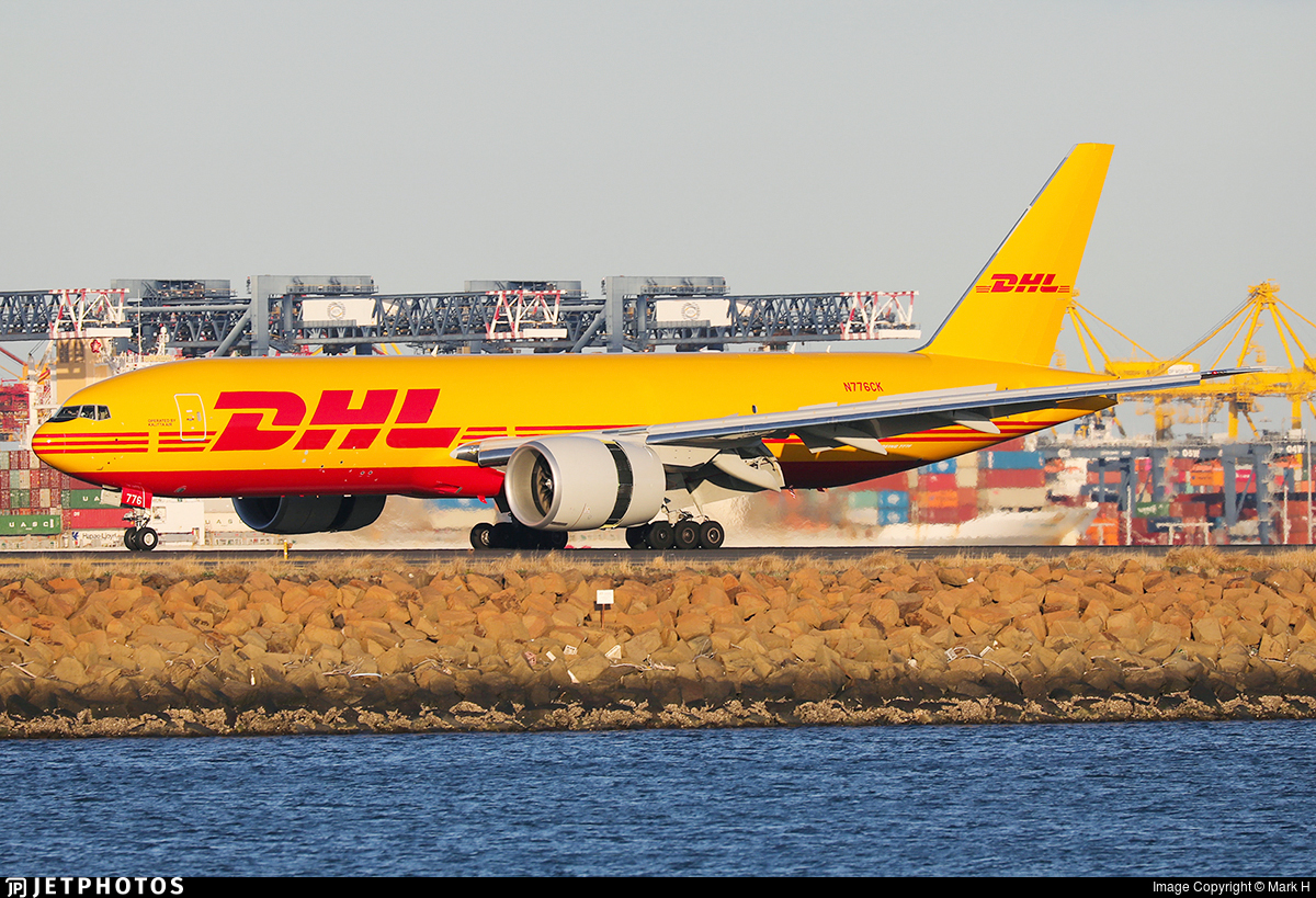 N776CK - Boeing 777-FBL - DHL (Kalitta Air)