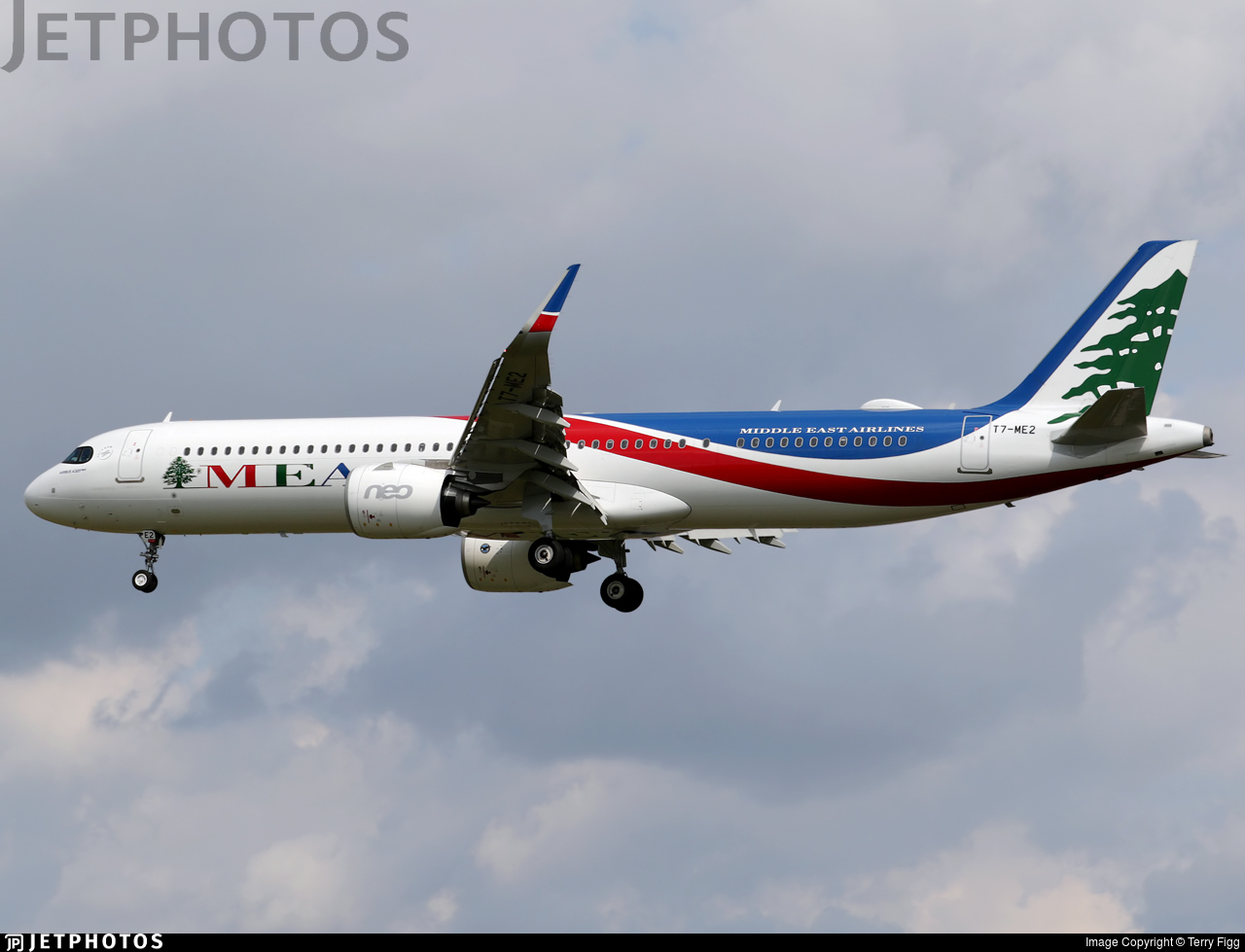 T7-ME2 - Airbus A321-271NX - Middle East Airlines (MEA)