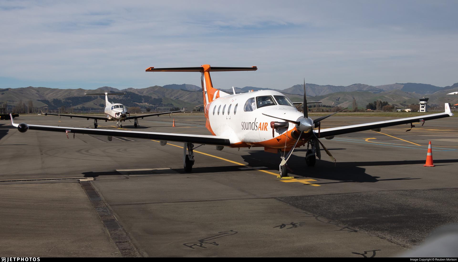 ZK-PLV - Pilatus PC-12/45 - Sounds Air