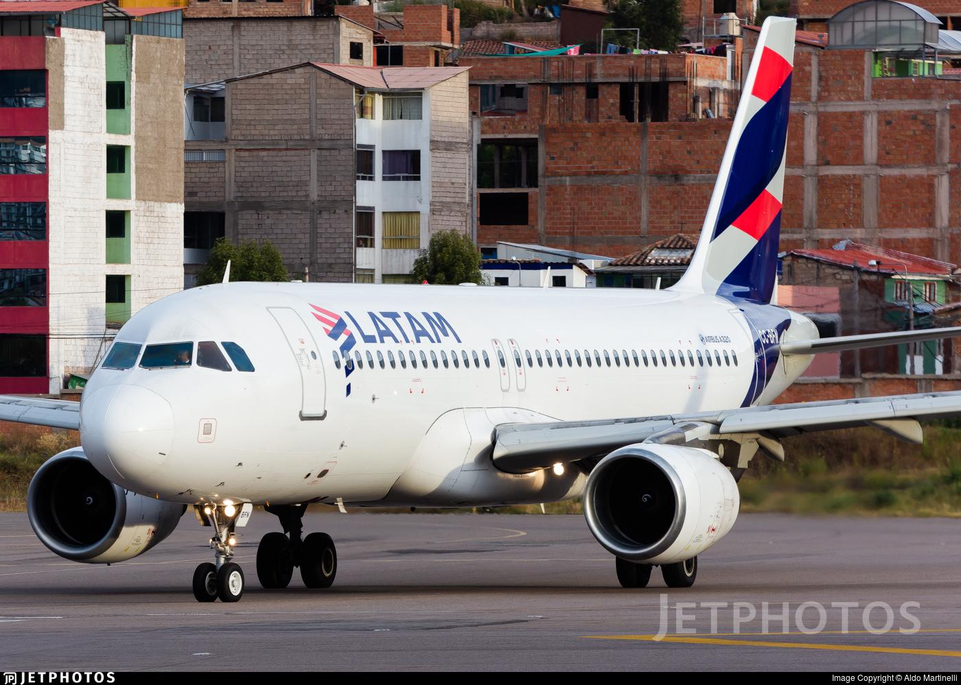 CC-BFN - Airbus A320-214 - LATAM Airlines