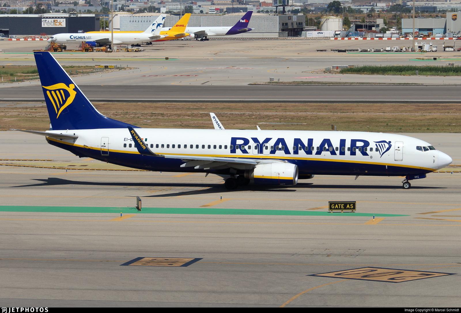EI-DPZ - Boeing 737-8AS - Ryanair