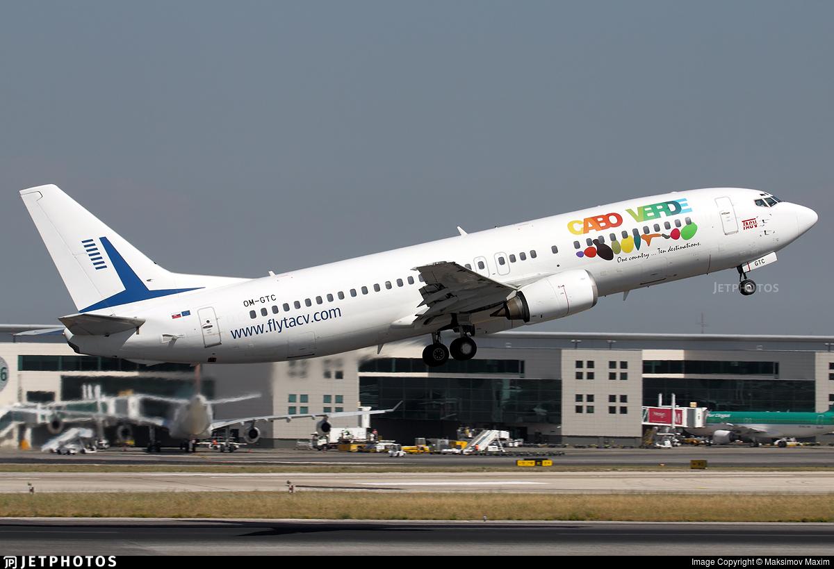 OM-GTC - Boeing 737-430 - TACV Cabo Verde Airlines (Go2Sky)