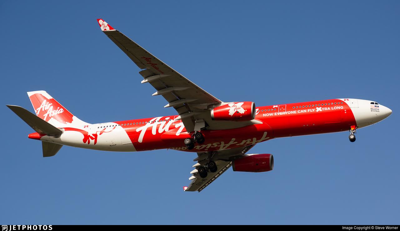 9M-XXS - Airbus A330-343 - AirAsia X