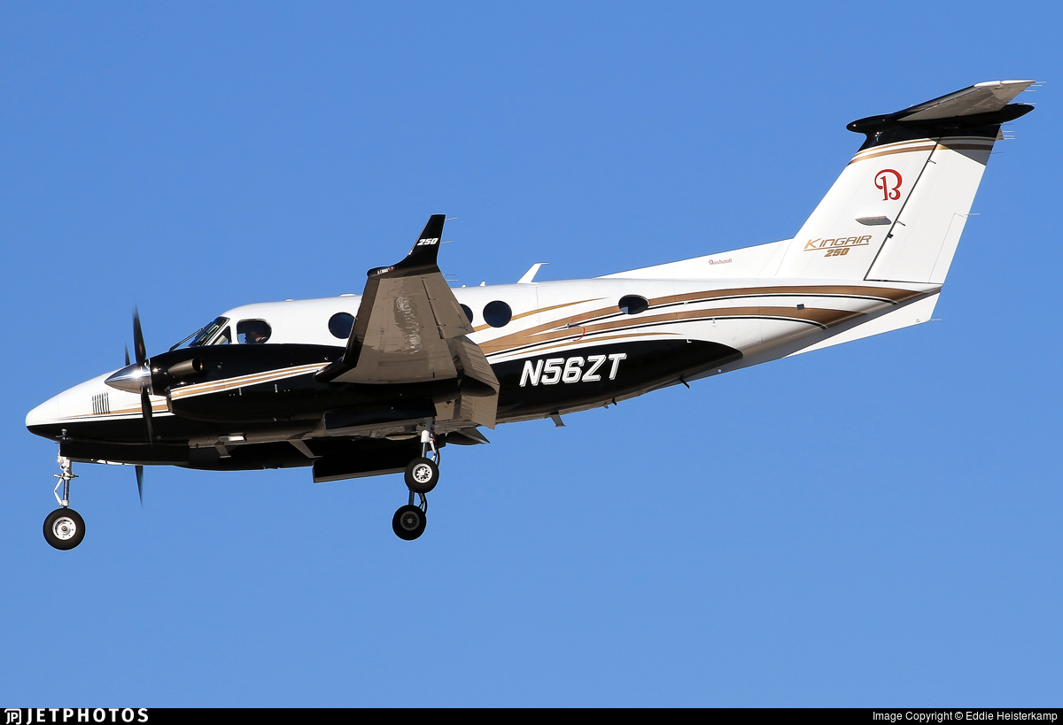 N56ZT - Beechcraft 250 King Air - Private