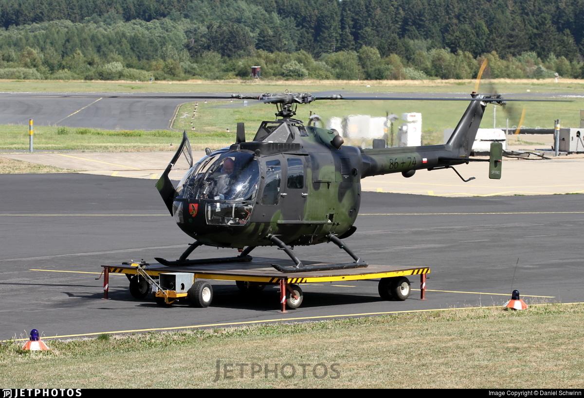 SP-YWD - MBB Bo105P1 - Private