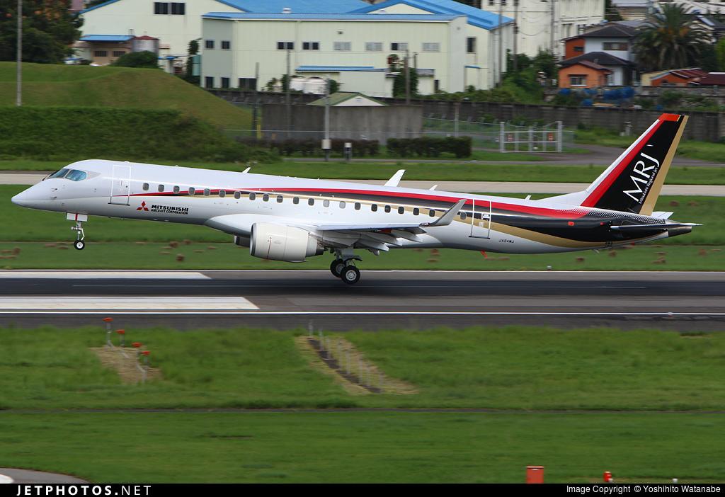 JA24MJ - Mitsubishi MRJ90STD - Mitsubishi Aircraft Corporation