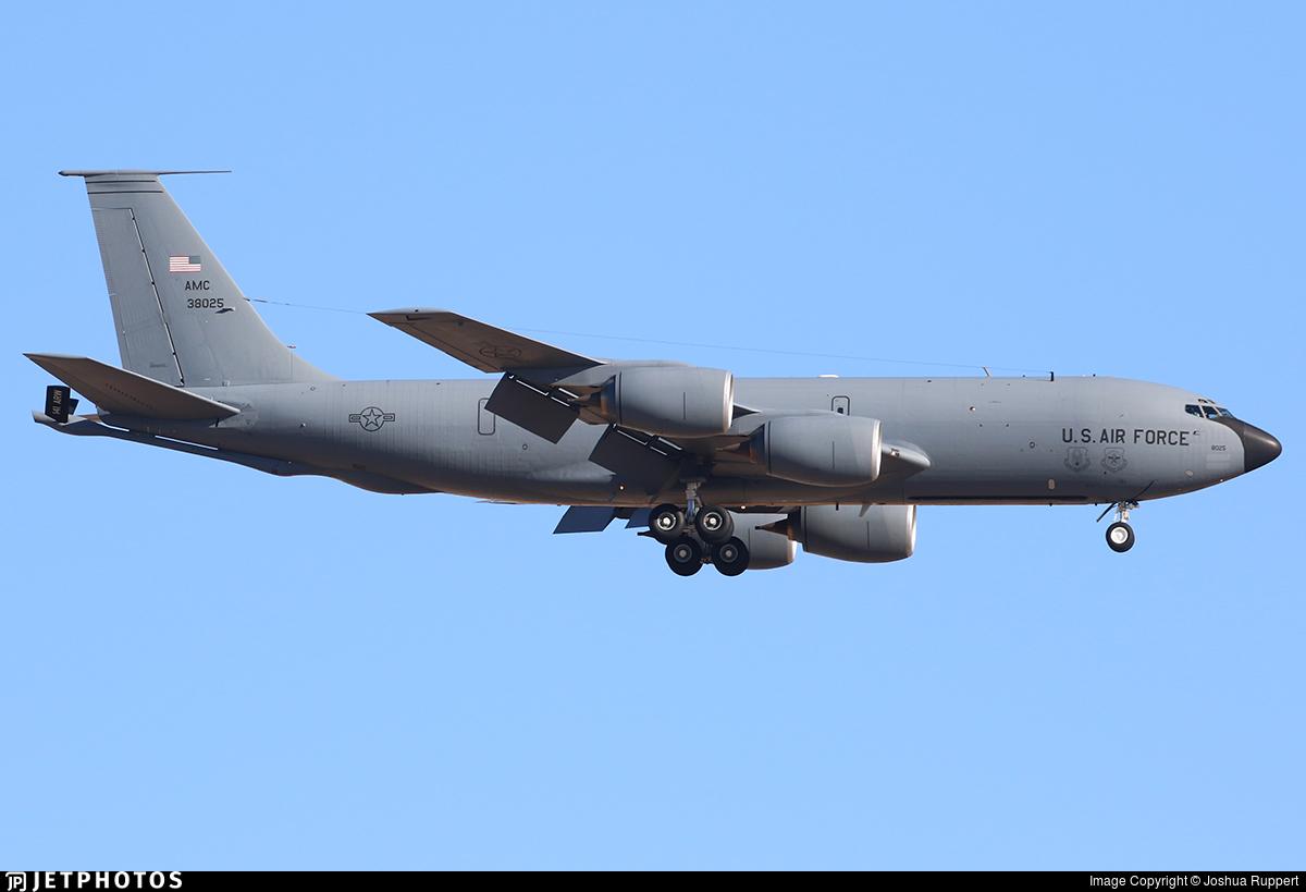63-8025 - Boeing KC-135R Stratotanker - United States - US Air Force (USAF)