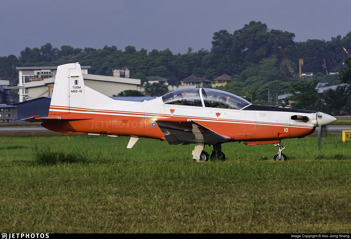 M50-10 - Pilatus PC-7 Mk.II - Malaysia - Air Force