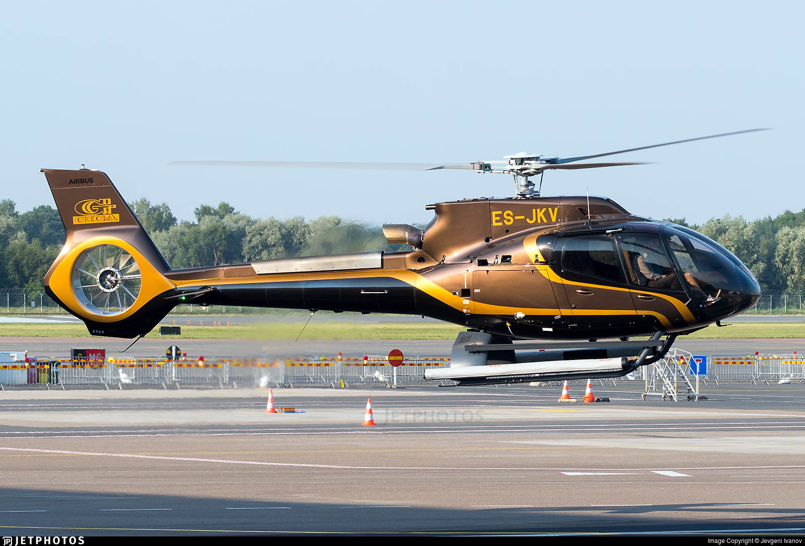 ES-JKV - Airbus Helicopters H130 T2 - Private