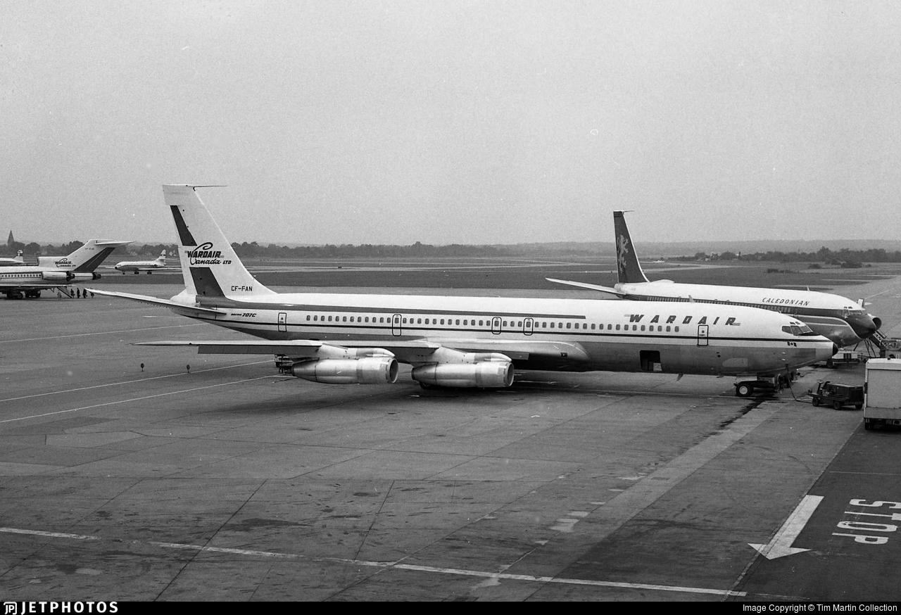 CF-FAN - Boeing 707-311C - Wardair Canada