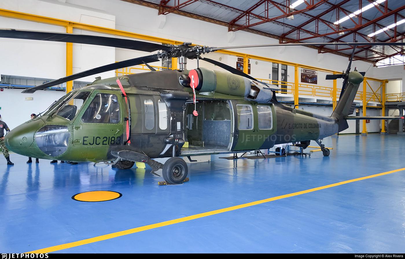 EJC2183 - Sikorsky UH-60L Blackhawk - Colombia - Army
