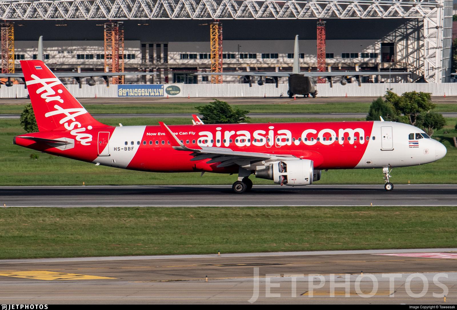 HS-BBF - Airbus A320-216 - Thai AirAsia