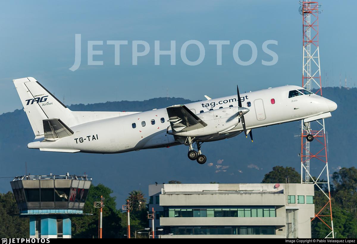 TG-TAI - Saab 340B - TAG Airlines - Transportes Aéreos Guatemaltecos