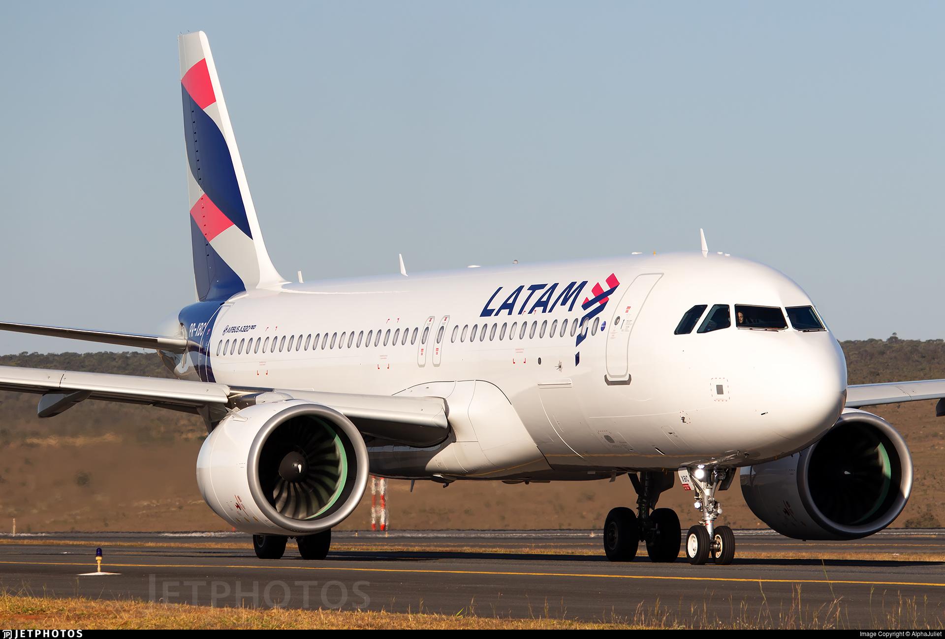 PR-XBC - Airbus A320-273N - LATAM Airlines