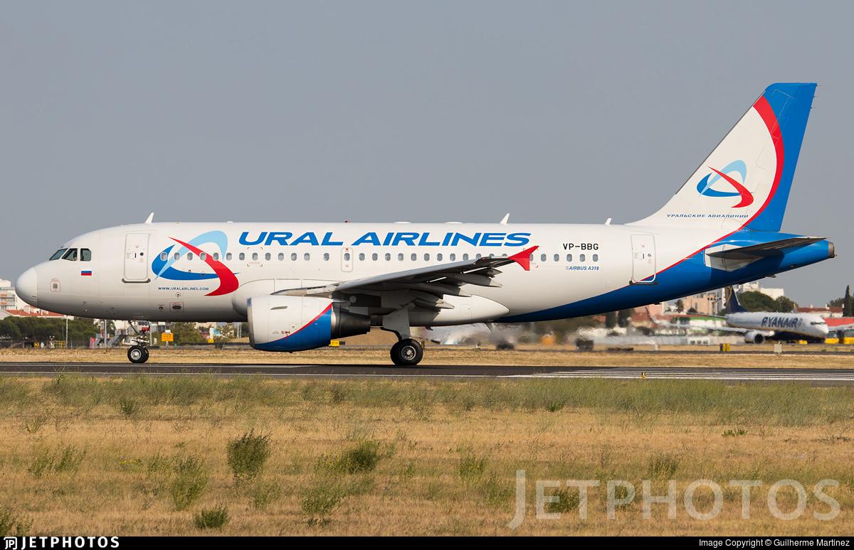 VP-BBG - Airbus A319-111 - Ural Airlines