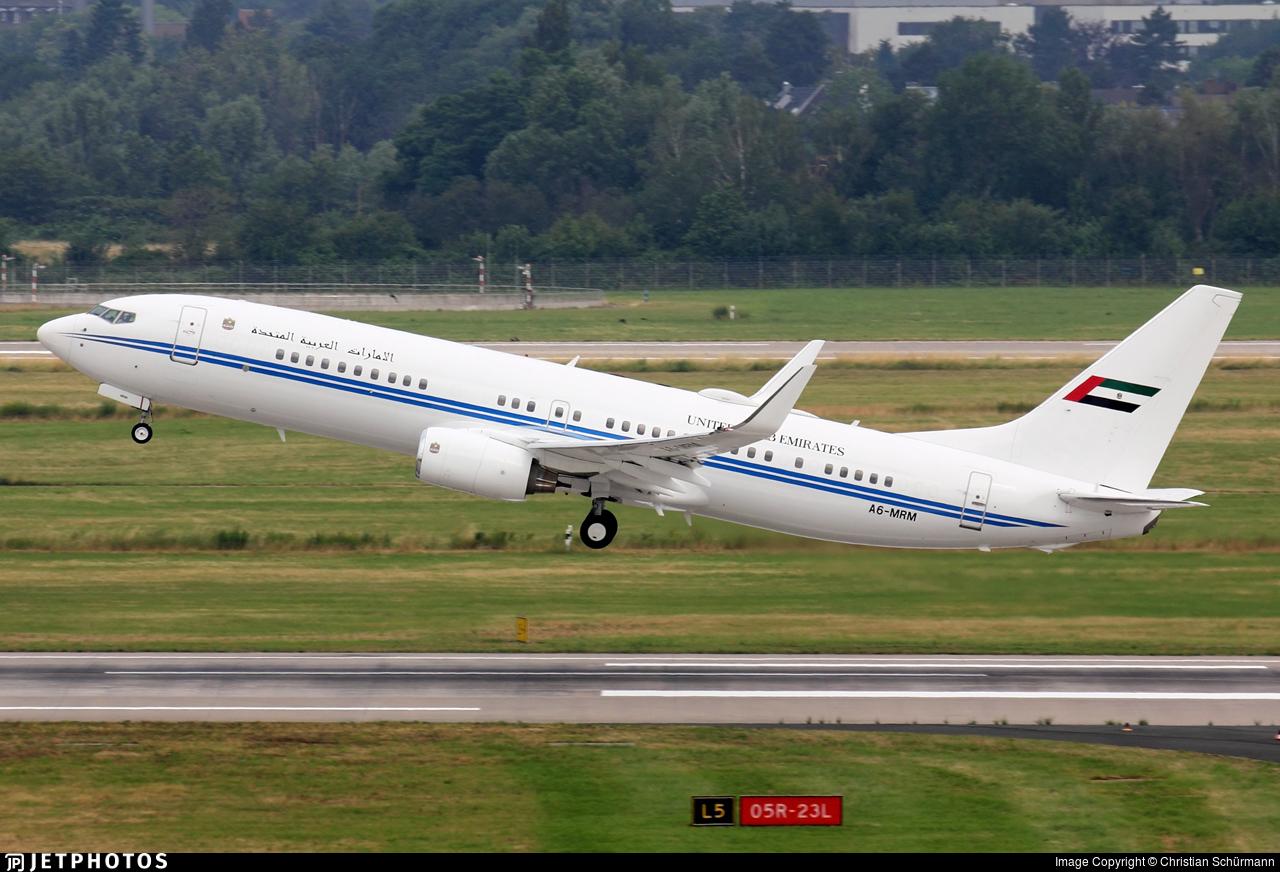 A6-MRM - Boeing 737-8EC(BBJ2) - United Arab Emirates - Dubai Air Wing