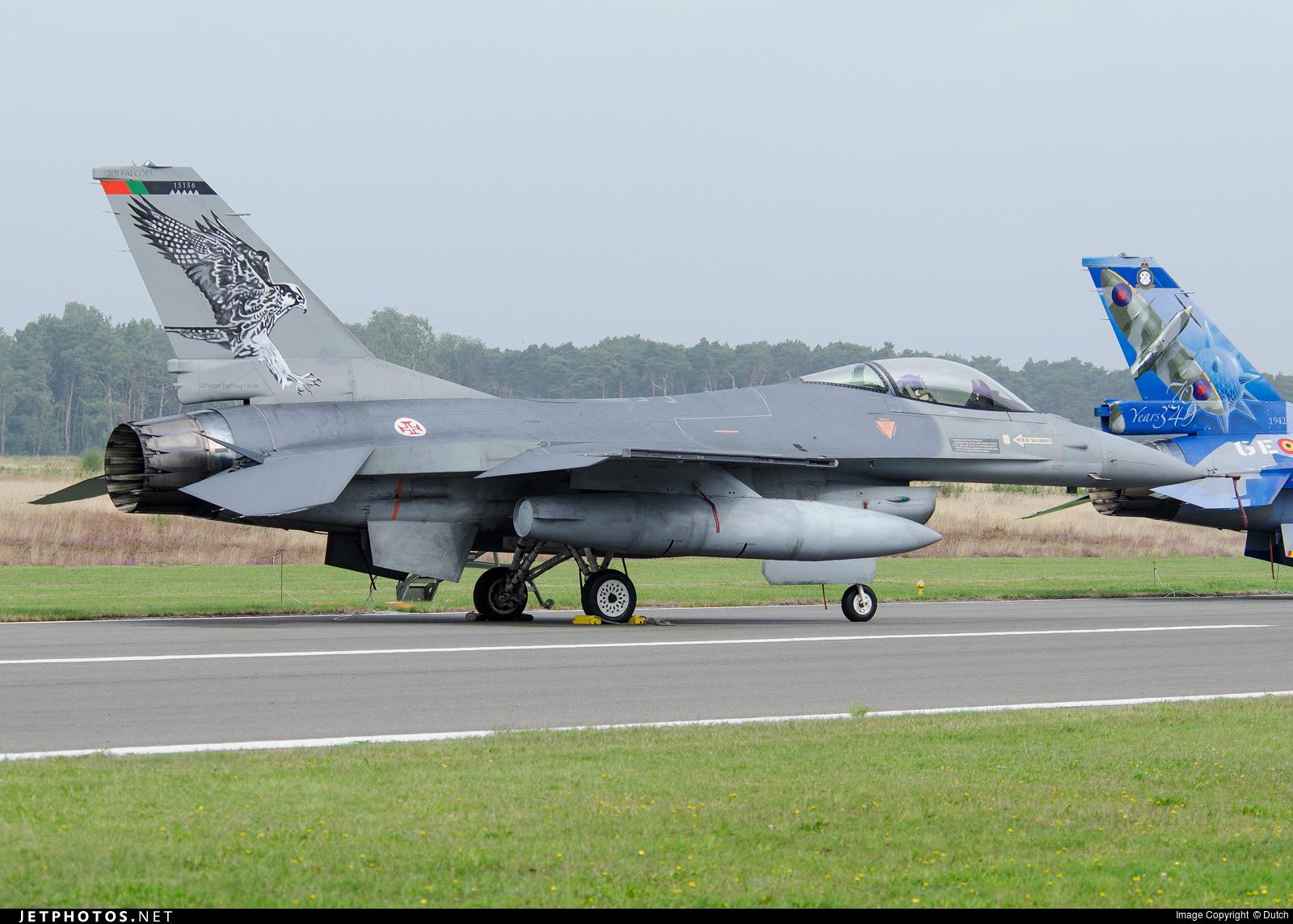 15136 - General Dynamics F-16AM Fighting Falcon - Portugal - Air Force