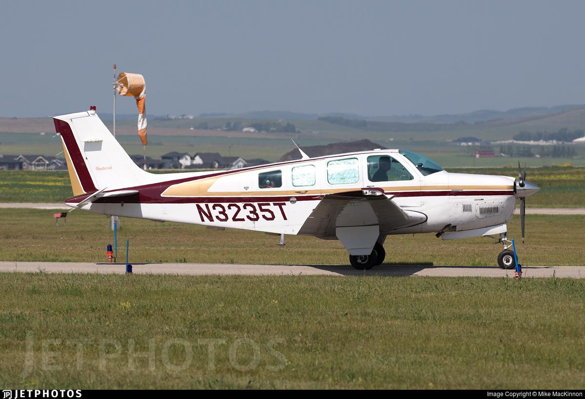 N3235T - Beechcraft B36TC Bonanza - Private
