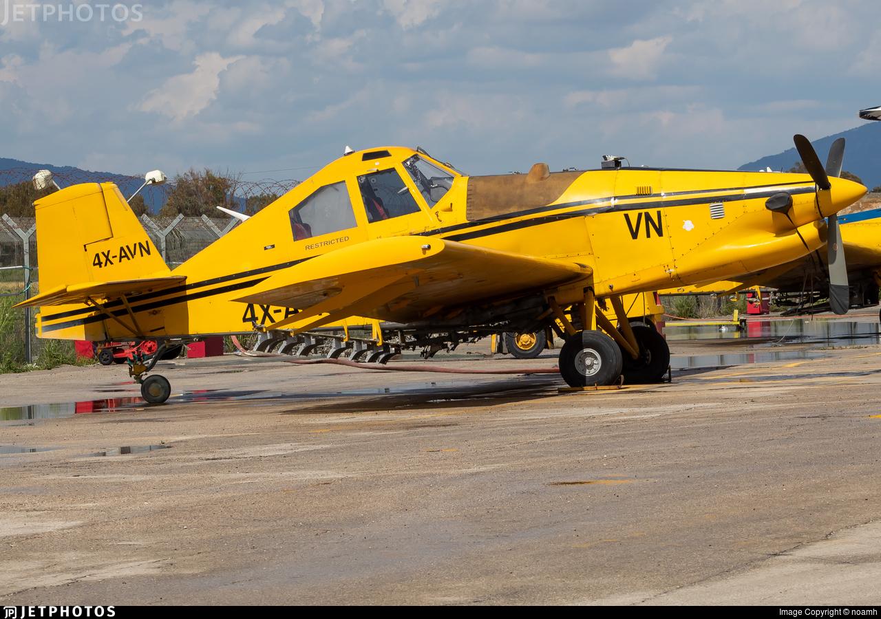 4X-AVN - Ayres S2R-T45 Turbo Thrush - Chim-Nir Aviation