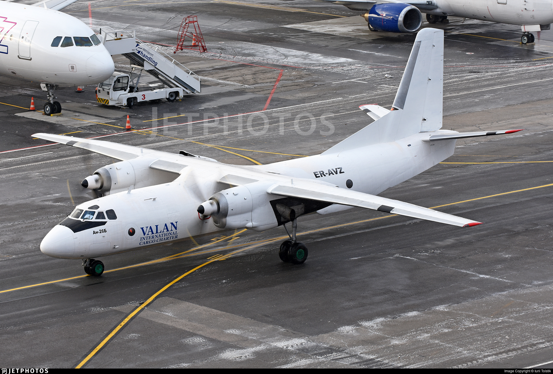 ER-AVZ - Antonov An-26B - Valan International Cargo Charter