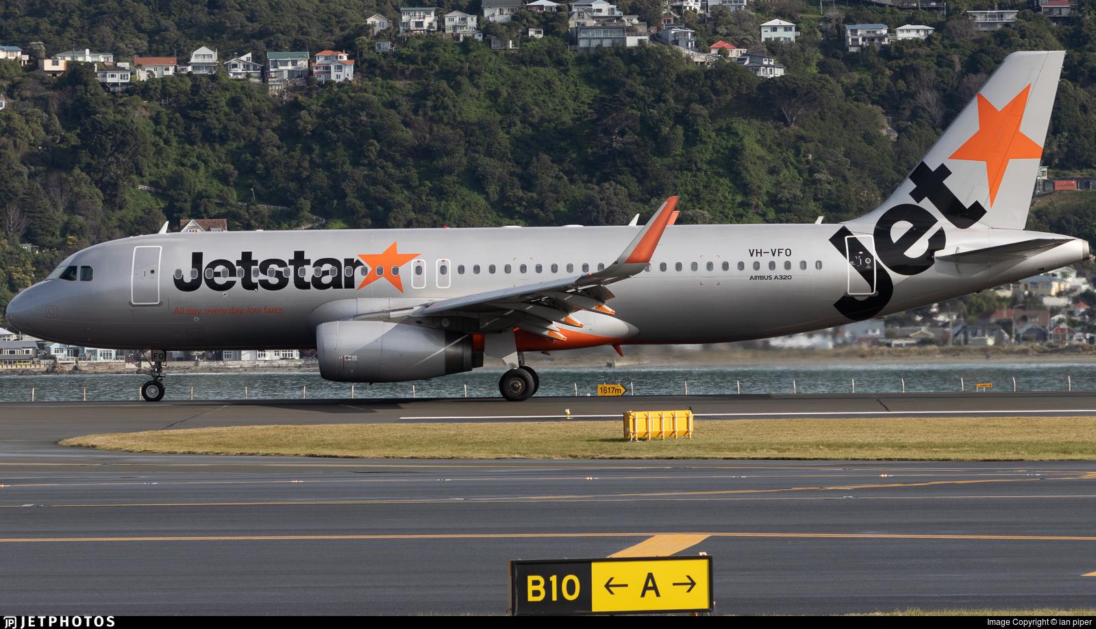 VH-VFO - Airbus A320-232 - Jetstar Airways