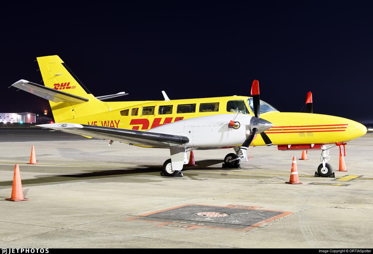 V5-WAY - Reims-Cessna F406 Caravan II - DHL (Westair Aviation)