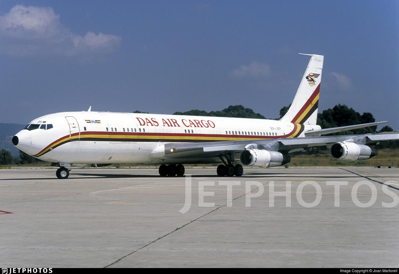 5X-JEF - Boeing 707-379C - DAS Air Cargo