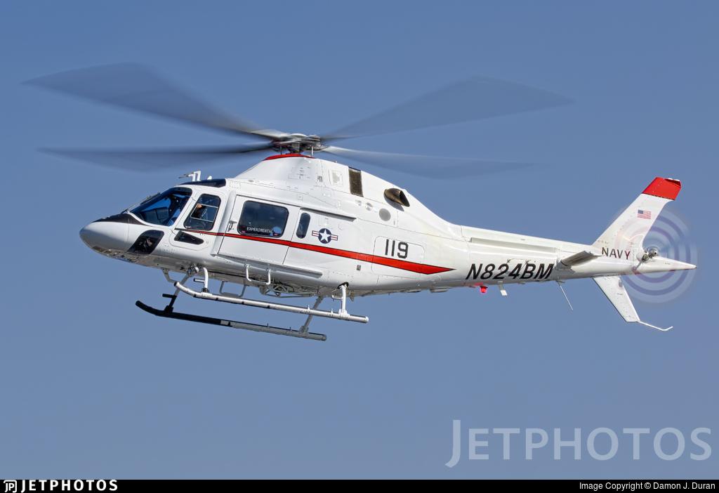 N824BM - Agusta-Westland AW-119 MkII Koala Enhanced - Agusta-Westland