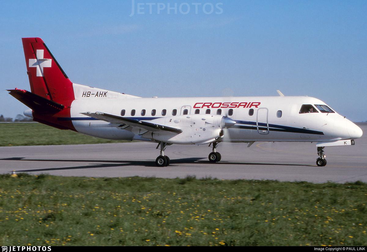 HB-AHK - Saab 340A - Crossair