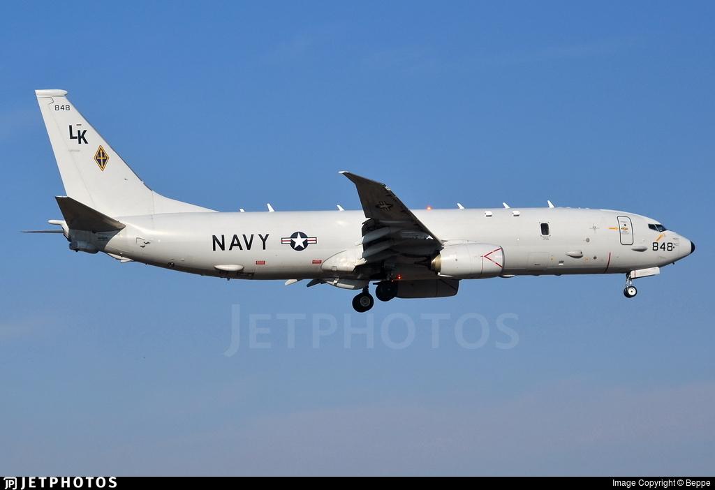 168848 - Boeing P-8A Poseidon - United States - US Navy (USN)
