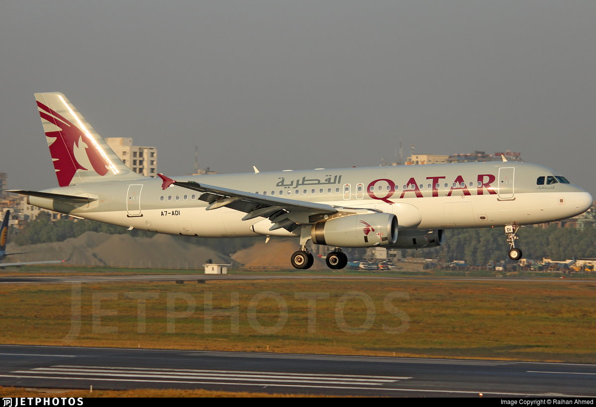 A7-ADI - Airbus A320-232 - Qatar Airways