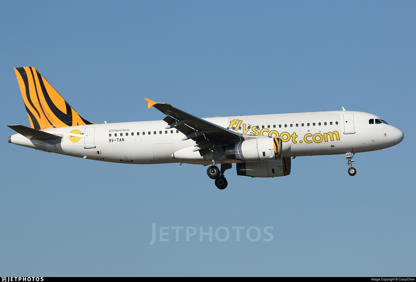 9V-TAN - Airbus A320-232 - Scoot