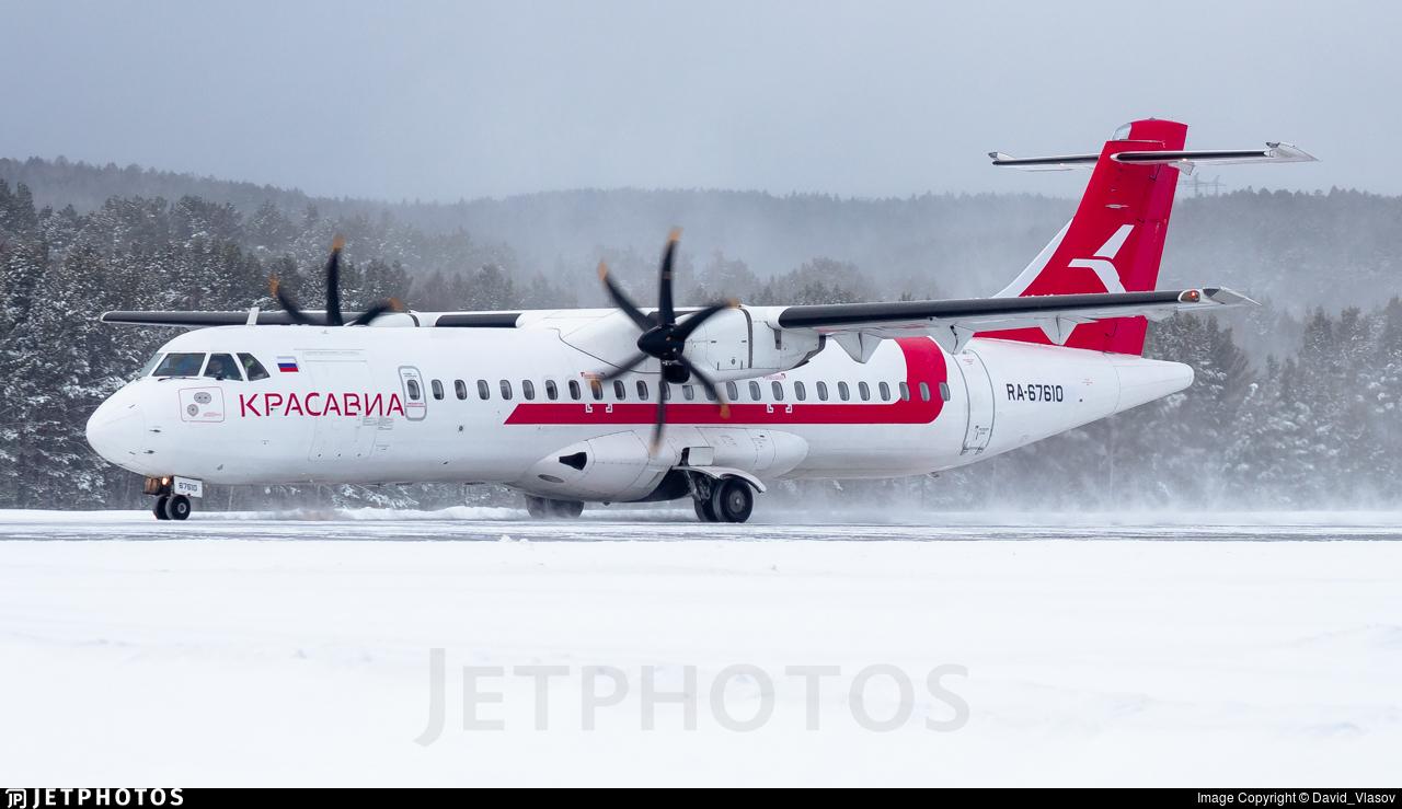 RA-67610 - ATR 72-212A(500) - Kras Avia
