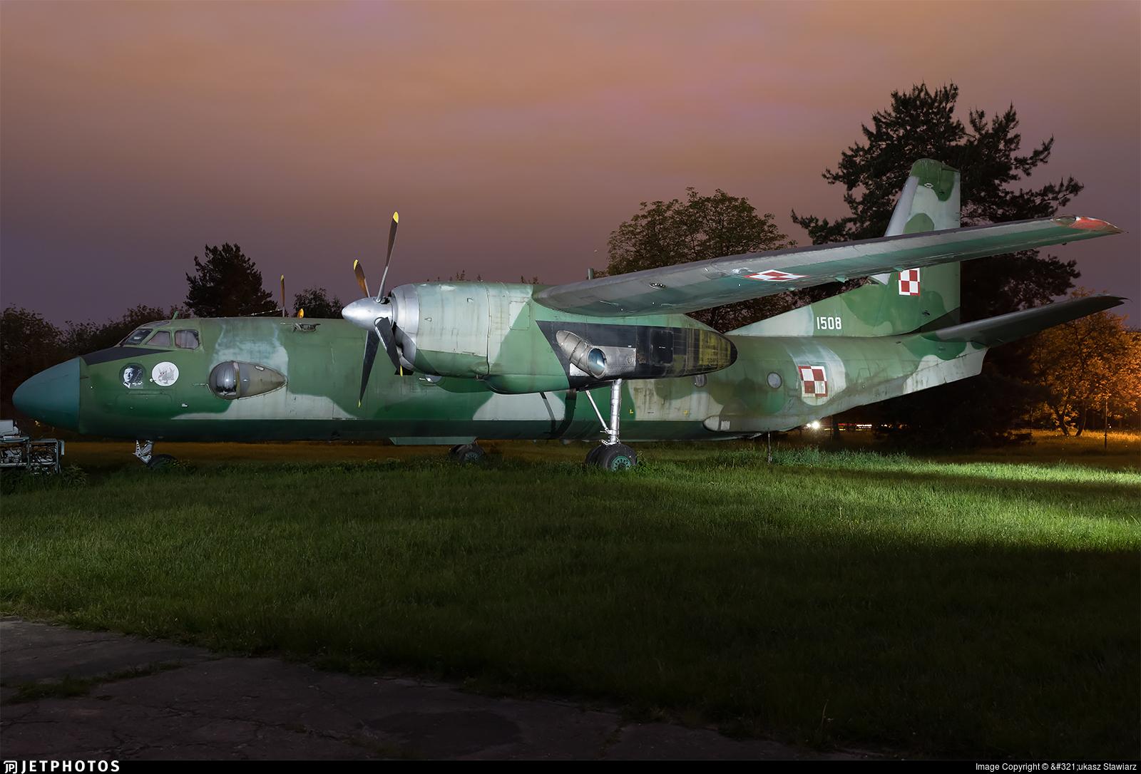1508 - Antonov An-26 - Poland - Air Force
