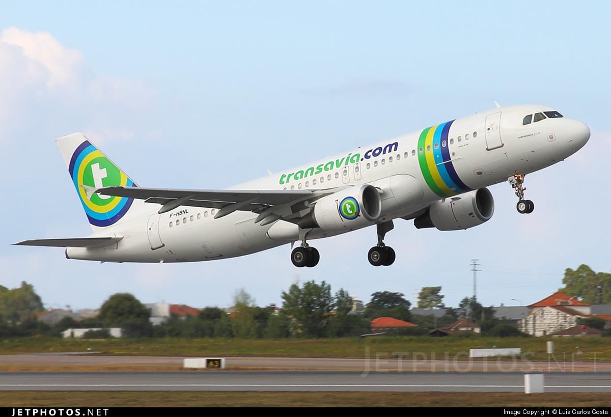F-HBNL - Airbus A320-214 - Transavia France