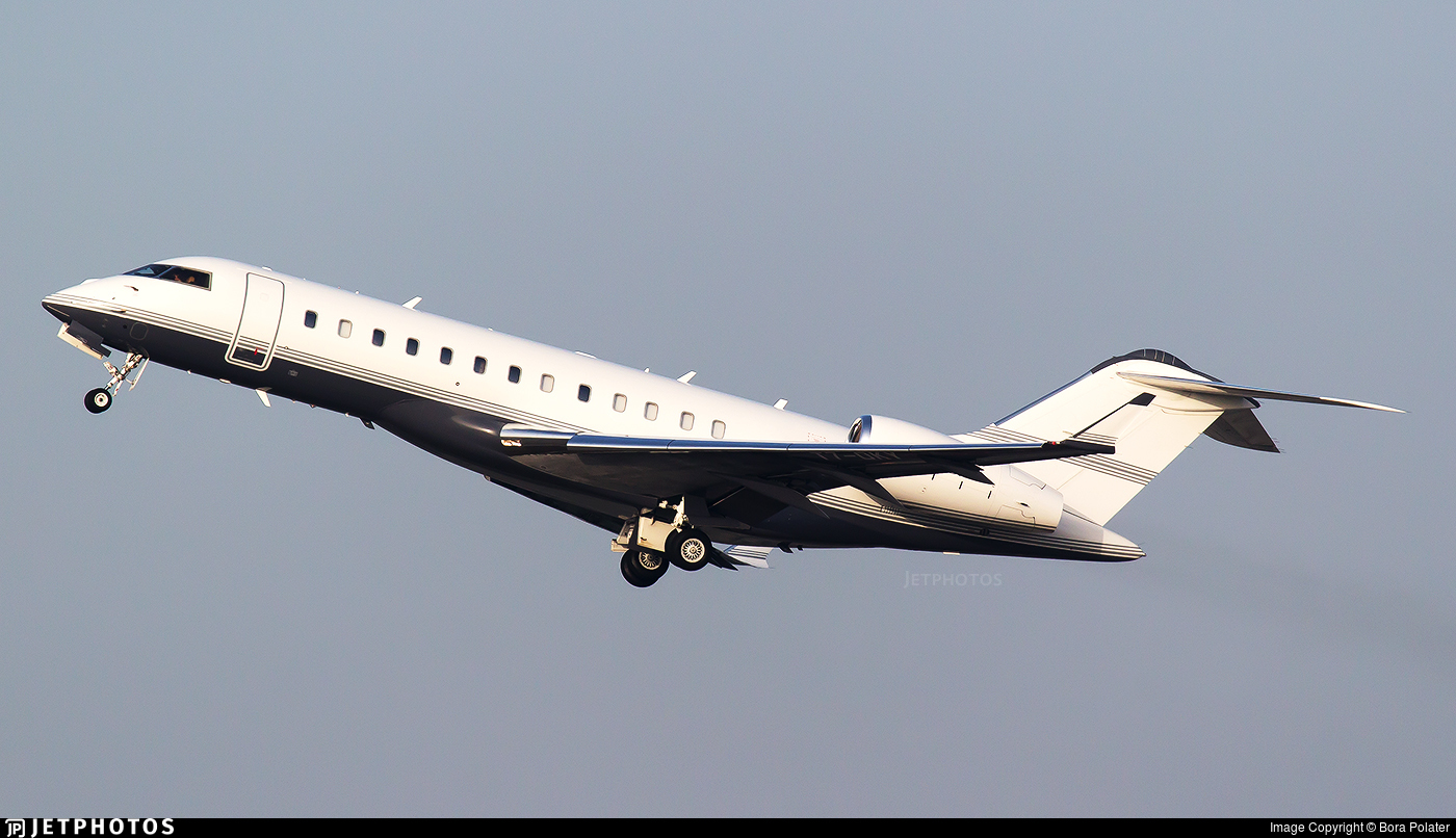 T7-OKY - Bombardier BD-700-1A10 Global 6000 - Skyline Aviation