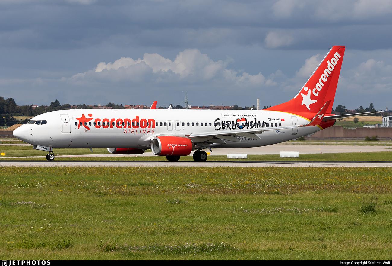 TC-COH - Boeing 737-8EH - Corendon Airlines