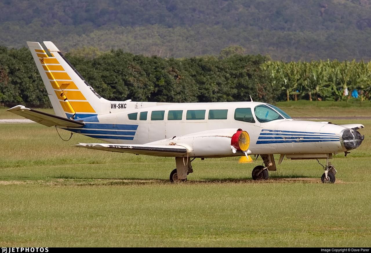 VH-SKC - Cessna 404 Titan - Broome Air Services
