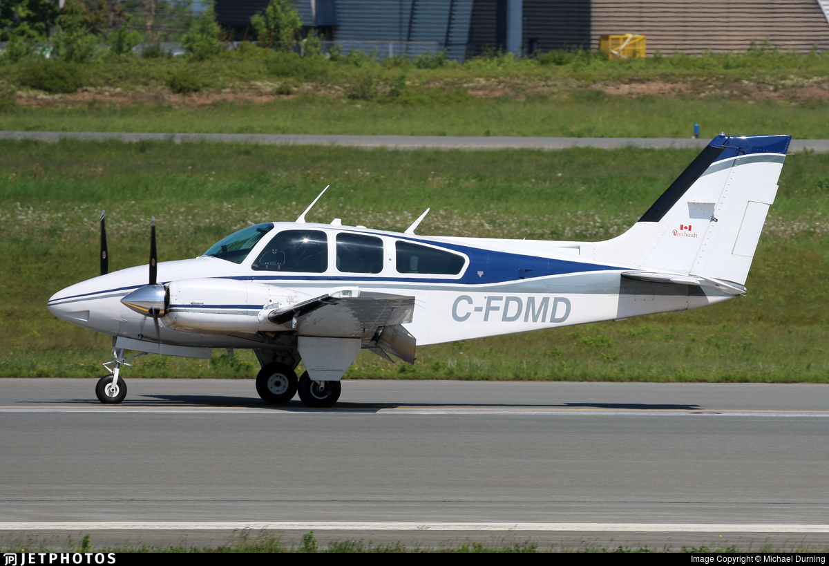 C-FDMD - Beechcraft 95-B55 Baron - Private