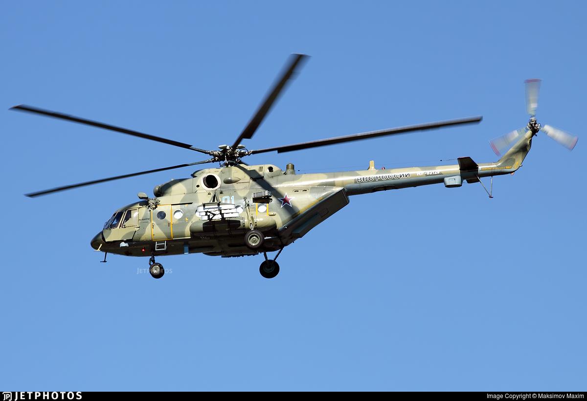RF-93129 - Mil Mi-8AMT Hip - Russia - Air Force