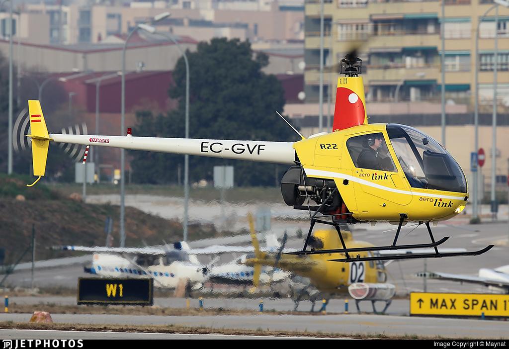EC-GVF - Robinson R22 Beta - Aerolink Air Services
